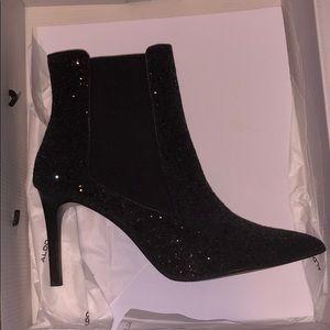 Zara Glitter heel boots
